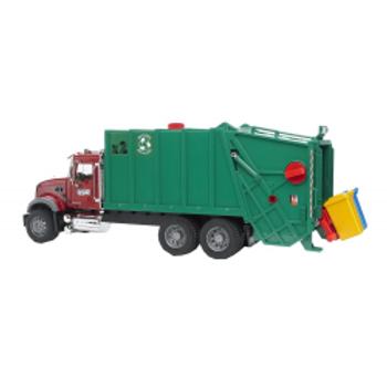 BRUDER - Mack Granite benne à ordure chargeur arrière
