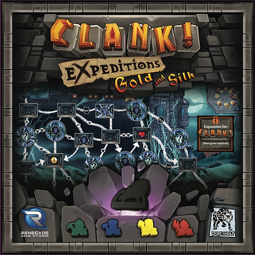 Clank! Expeditions - Gold and Silk VA