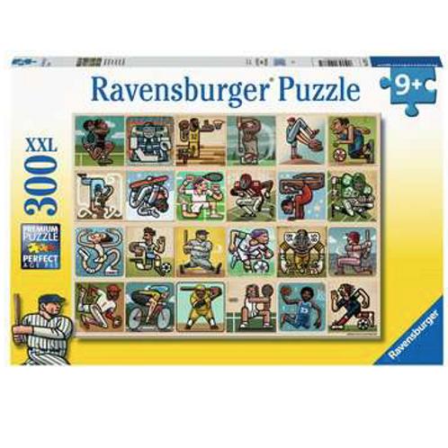300 Pcs - Ravensburger - Les grands sportifs