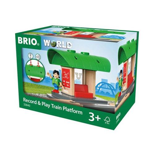 Brio - Gare à enregistreur vocal