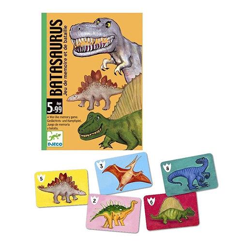 Djeco - Batasaurus (Jeu de mémoire et de Bataille)