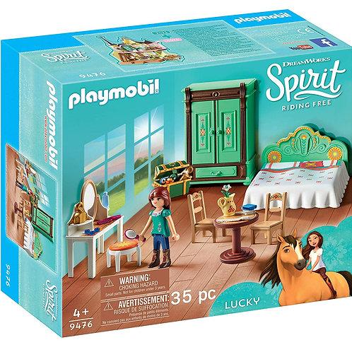 PLAYMOBIL - Spirit - Chambre de Lucky