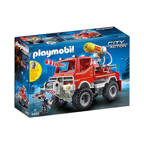 PLAYMOBIL - City Action - 4X4 de pompier avec lance-eau