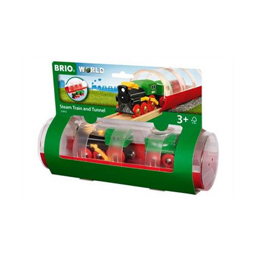 Brio - Train à vapeur et tunnel