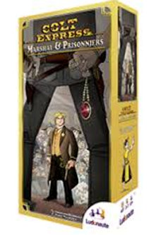 Colt Express extension Marshal & Prisonniers