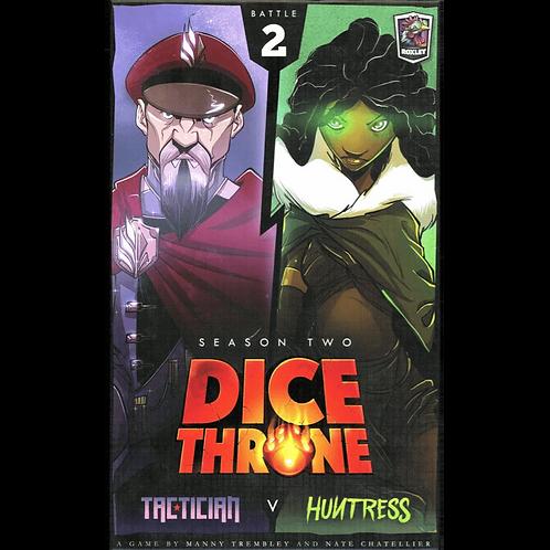 Dice Throne - Season Two : Battle 2 - Tactician vs Huntress VA