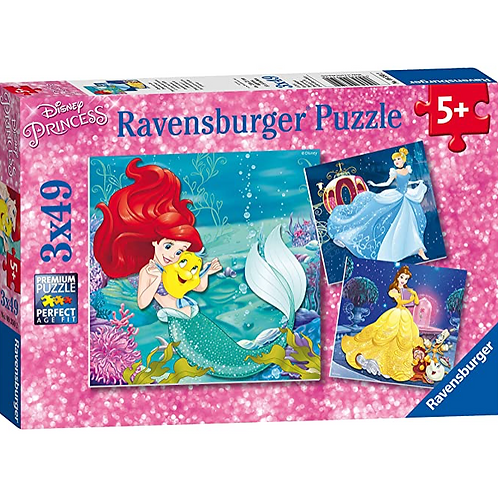 3x49 Pcs Aventure de Princesses