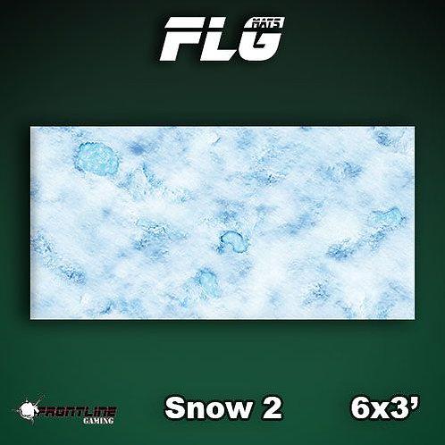 PLAYMAT - FLG Snow2 6'x3'