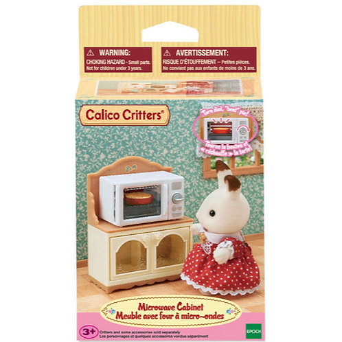 Calico Critters - Microwave Cabinet