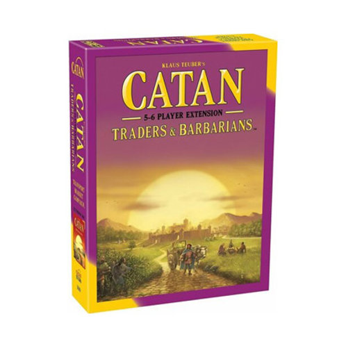 Catan - Traders and Barbarians Expansion : 5 and 6 Players Extension VA