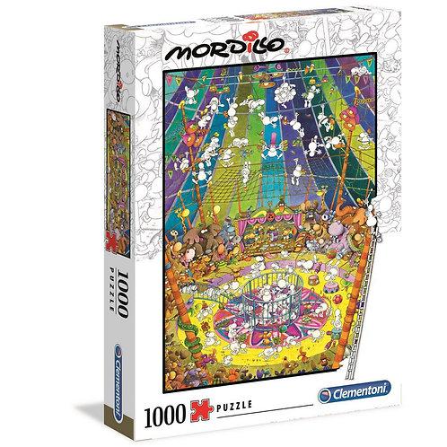 1000 Pcs Mordillo - Le spectacle