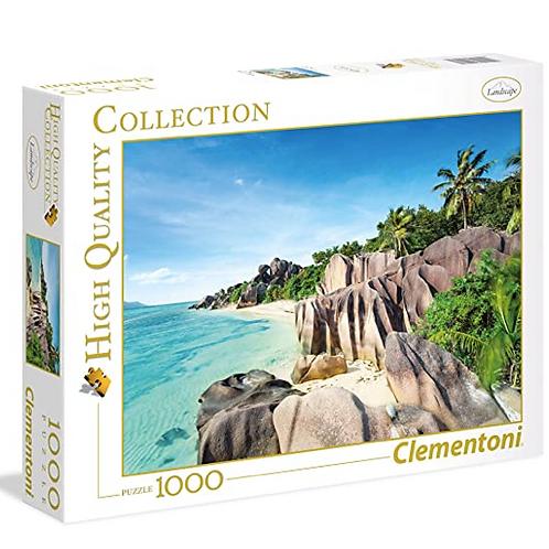 Clementoni - 1000 Pcs - Paradise Beach