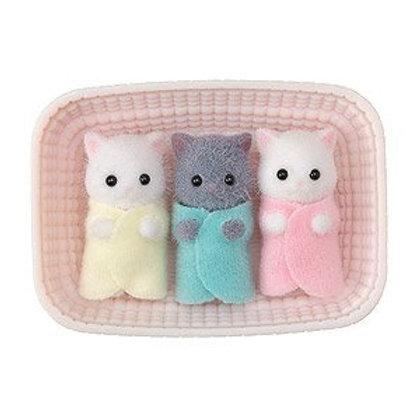 Calico Critters - Les triplés chat percant
