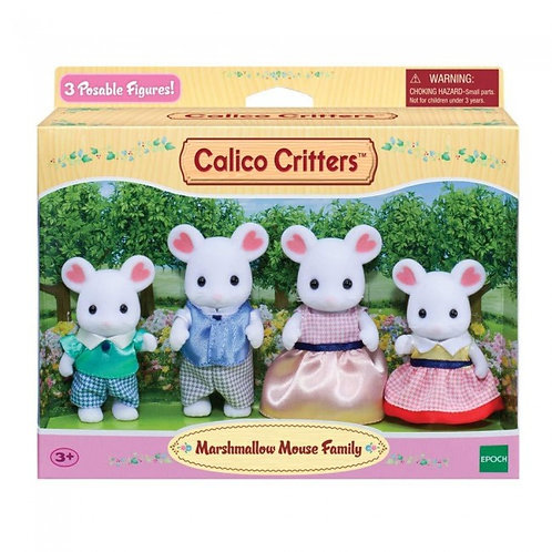 Calico Critters - Famille Souris guimauve