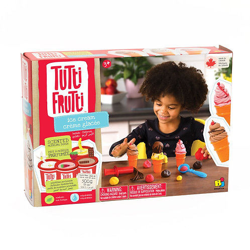 Tutti Frutti - Ensemble de pâte à modeler Crème glacée
