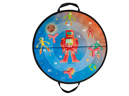 Scratch - Jeu de dards ''étoiles/Diskers''  magnétiques Espace