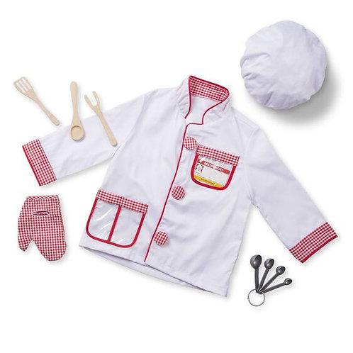 Costume de chef cuisinier 3-4 ans +
