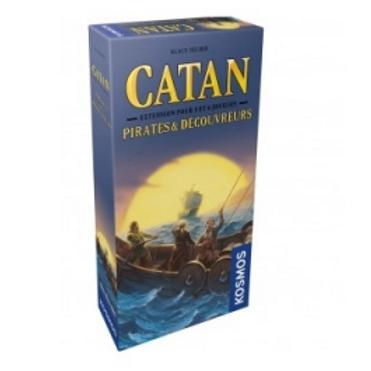 Catan: Pirates et decouvreurs extension 5-6 joueurs VF