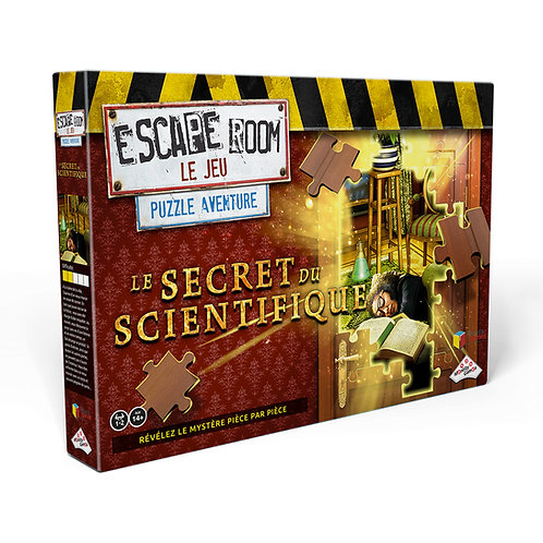 Coffret Escape Room puzzle - Secret scientifique