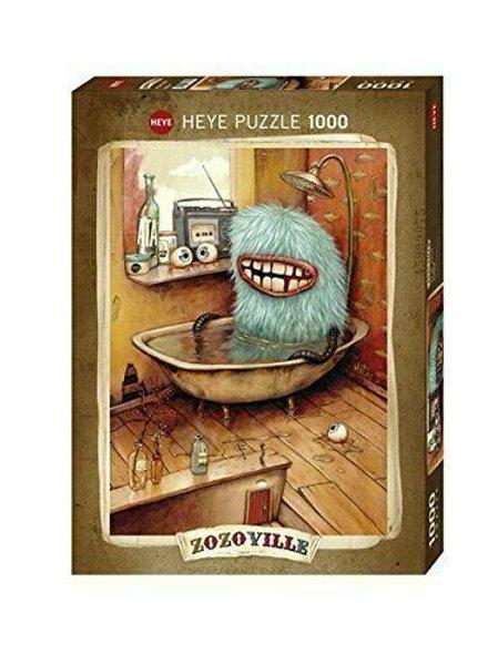 1000 pcs - HEYE - Zozoville - Bathtub