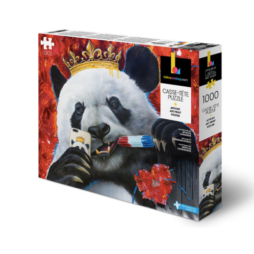 1000 pcs - Lalita'a art shop - Panda