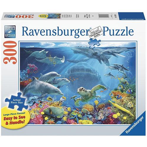 300 Pcs XXL Life Underwater (Pièces Large)