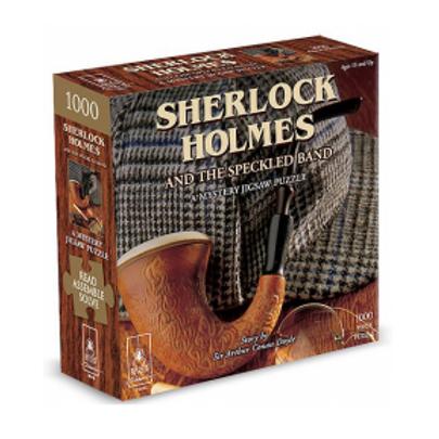 1000 Pcs - Sherlock Holmes mystery puzzle