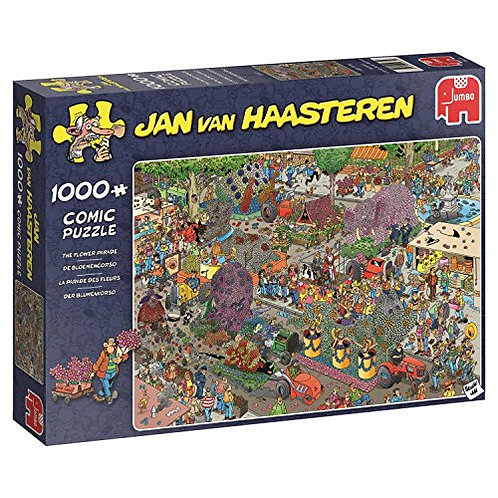 1000 Pcs - Jumbo - La parade des fleurs - JvH