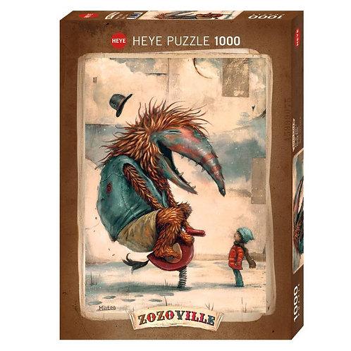 1000 pcs - HEYE - Zozoville - Spring time