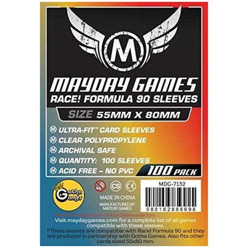 Sleeves - 55 x 80 - Mayday Games - Race! Formula 90 (100)