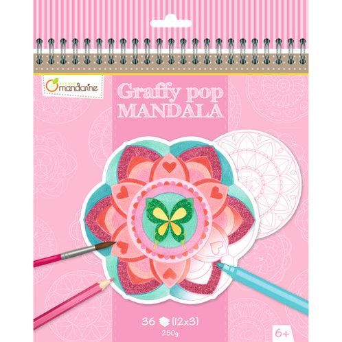 Avenue Mandarine - Graffy Pop Mandala, Fille