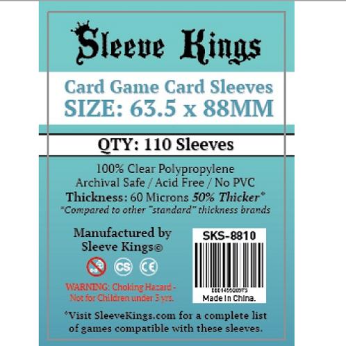 Sleeves - 63.5 X 88 - Sleeve Kings - Standard (110)