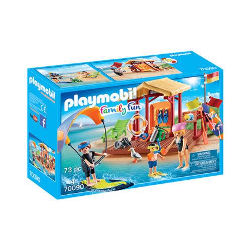 PLAYMOBIL - Family Fun - Espace de sports nautiques