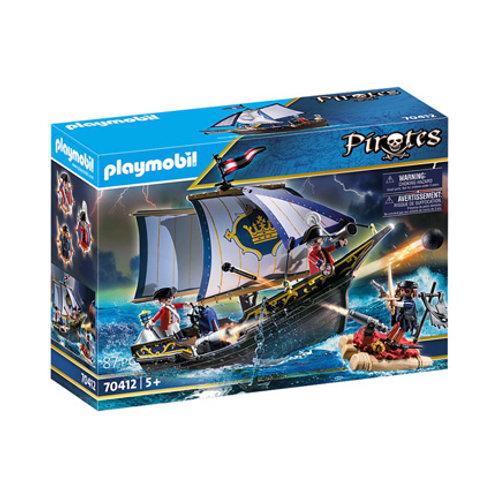 PLAYMOBIL - Pirates - Chaloupe des soldats