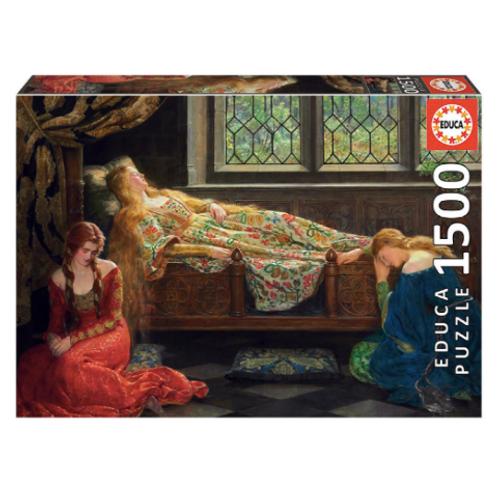 1500 pcs - Belle au Bois Dormant, John Collier - Educa
