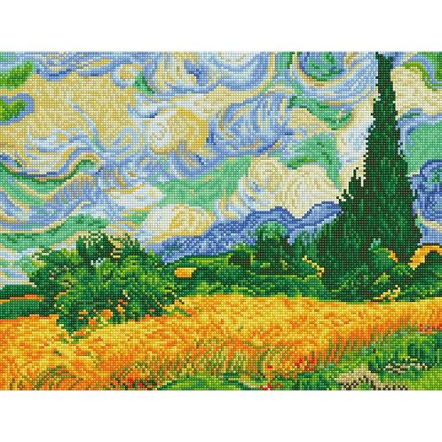 Diamond Dotz - Wheat fields (Van Gogh)