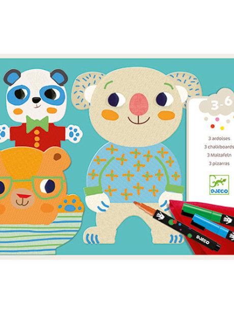 Djeco - 3 Ardoises Les Mimis
