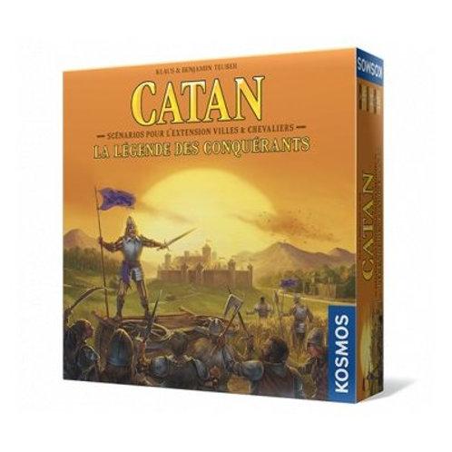 Catan: La Legende du conquerants Scenario: ville et chevalier VF