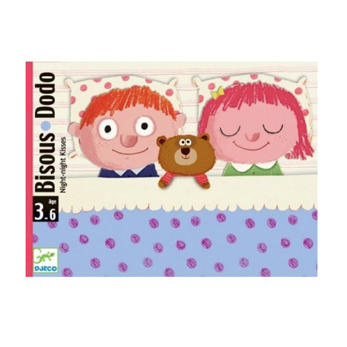 Djeco - Bisous Dodo (Jeu pour le dodo)