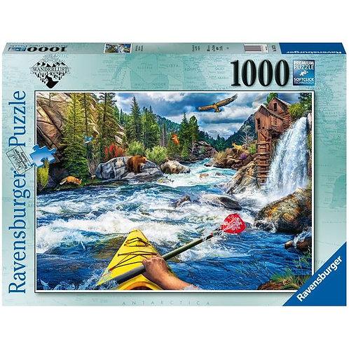 1000 Pcs - Whitewater kayaking
