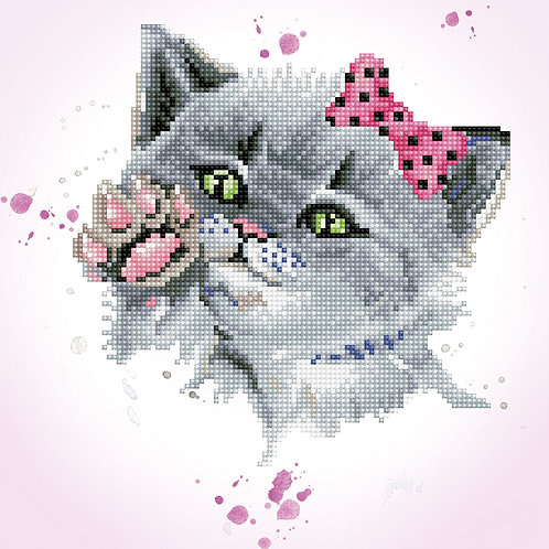 Diamond Dotz - Eye Spy Kitty
