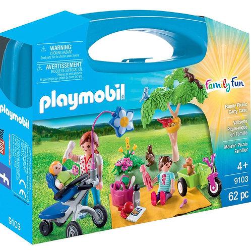PLAYMOBIL - Family Fun - Valisette Pique-Nique en Famille