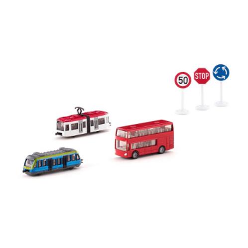 Siku - Coffret cadeau transports urbains