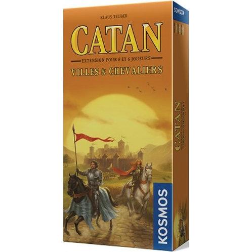 Catan - Villes et Chevaliers Extension 5/6 joueurs