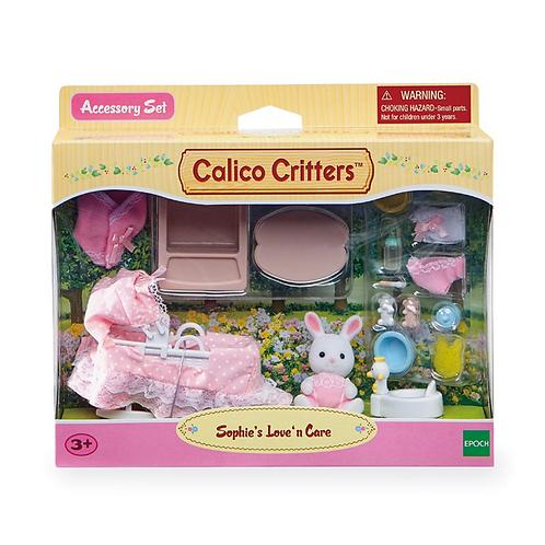 Calico Critters - L'Ensemble Poupon à dorloter de Sophie