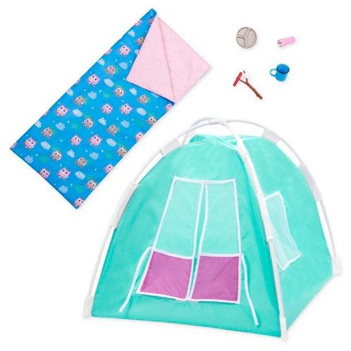 """Accessoires OG - """"Happy Camper Set"""" pour poupée de 46 cm"""