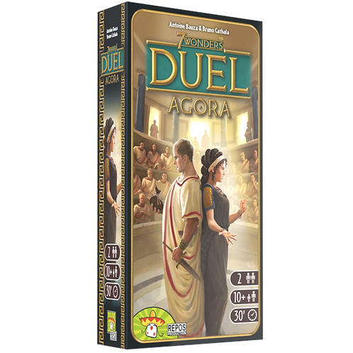 7 Wonders Duel - Extension Agora VA