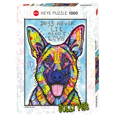 1000 pcs - HEYE - Jolly Pets - Dogs never lie