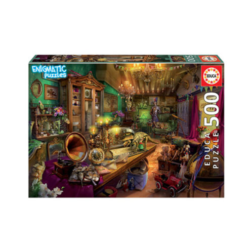 500 Pcs - Mystérieux - Magasin d'antiquités - Educa