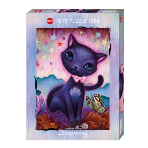 1000 pcs - HEYE - Dreaming - Black Kitty